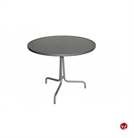 "Picture of GRID Outdoor 36"" Round Solid Top Dining Table"