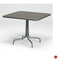 "Picture of GRID Outdoor Wrought Iron 36"" Square Dining Table"
