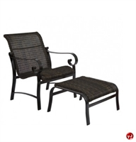 Picture of GRID Outdoor Aluminum Lounge Arm with Ottoman