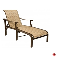 Picture of GRID Outdoor Aluminum Adjustable Chaise Sling Lounge