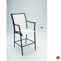 Picture of GRID Outdoor Aluminum Dining Cafe Barstool Chair