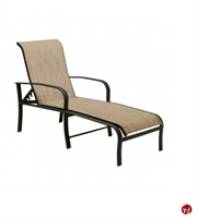 Picture of GRID Outdoor Aluminum Adjustable Chaise Lounge
