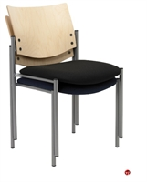 Picture of Guest Side Reception Stack Armless Chair, Pack of 2