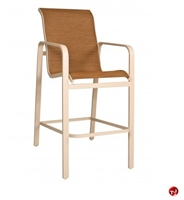 Picture of GRID Outdoor Aluminum Barstool Arm Chair