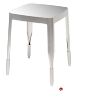 Picture of ICF 4A Aluminum Dining Cafe Backless Stool Chair