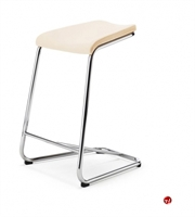 Picture of ICF ADD Contemporary Steel Kitchen Stool Chair