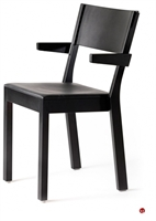 Picture of ICF Akustik Contemporary Dining Cafe Wood Stack Chair