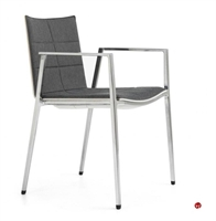 Picture of ICF Archal Aluminum Contemporary Guest Visitor Arm Chair