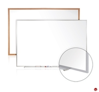 Picture of 4' x 4' Dry Erase Magentic Aluminum Trim Whiteboard