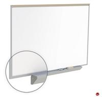 Picture of 4' x 10' Dry Erase Magentic Aluminum Trim Markerboard