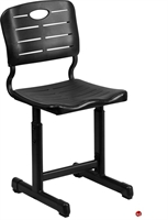 Picture of Brato Poly Shell Adjustable Height Classroom School Chair