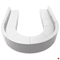 Picture of Brato Contemporary Lobby Lounge Modular Curve Bench Seating