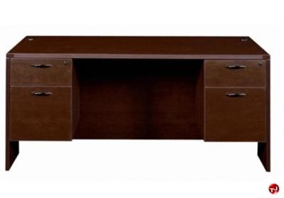 "Picture of 30"" x 60"" Double Pedestal Office Desk Workstation"