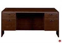 "Picture of 30"" x 66"" Double Pedestal Office Desk Workstation"