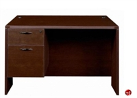 "Picture of 24"" x 48"" Single Pedestal Office Desk Workstation"