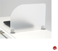 Picture of Optra Desk Mounted Privacy Divider Screen