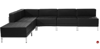 Picture of BRATO L Shape Modular Lounge Reception Bench Seating