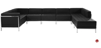 Picture of BRATO U Shape Modular Reception Lounge Bench Seating