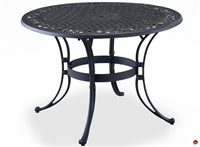 "Picture of Flexsteel Del Rey Outdoor Wrought Iron 42"" Round Dining Table"