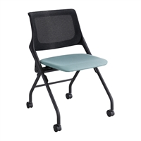Picture of Mesh Tack Training Mobile Nesting Armless Chair