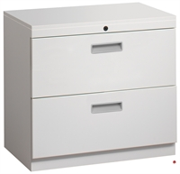 """Picture of 2 Drawer Trace Lateral File Storage Cabinet, Steel 30""""W"""