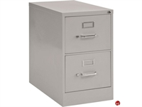 """Picture of 2 Drawer Legal Steel Vertical File Cabinet, 18"""" x 26"""" x 29"""""""