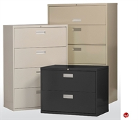 """Picture of 2 Drawer Steel Lateral File Cabinet, 36"""" x 19"""" x 29"""""""