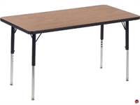 """Picture of AILE 24"""" x 48"""" Adjustable Height Activity Table"""