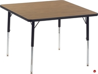 """Picture of AILE 36"""" x 36"""" Height Adjustable Activity Table"""