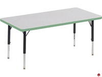 """Picture of AILE 24"""" x 48"""" Ajustable Height Kids Activity Table"""