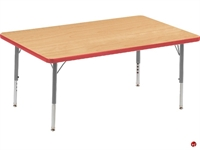 """Picture of AILE 30"""" x 48"""" Height Adjustable Kids Activity Table"""
