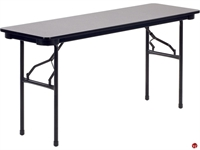 """Picture of AILE 18"""" x 60"""" Folding Table"""